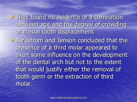 Bergstrom Lost And Found Third Molars Its Significance In Orthodontic Treatment
