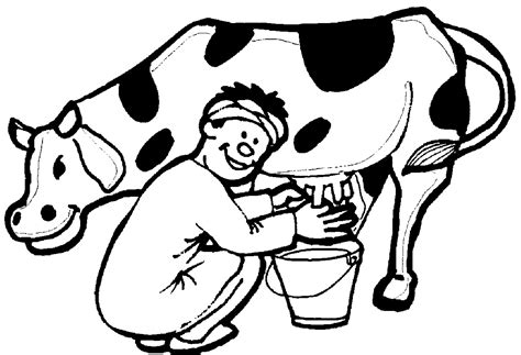 milking cow coloring page top 85 cow coloring pages free coloring page