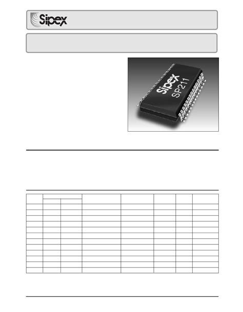 1uf capacitor datasheet pdf sp204 datasheet 5v high speed rs 232 transceivers with 0 1uf capacitors