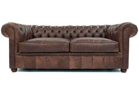 chester vintage leather large 2 seat chesterfield from