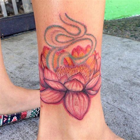 tattoo lotus ankle 35 cute lotus tattoos on ankle