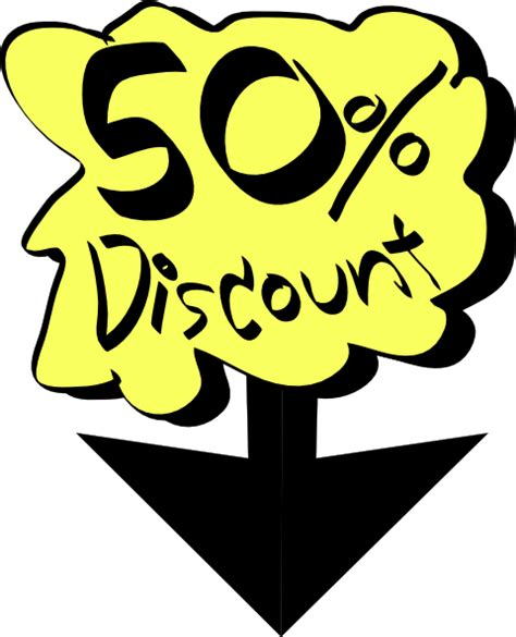 Cheap Clipart 50 discount clip at clker vector clip royalty free domain