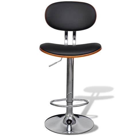 artificial leather bar stool height adjustable with