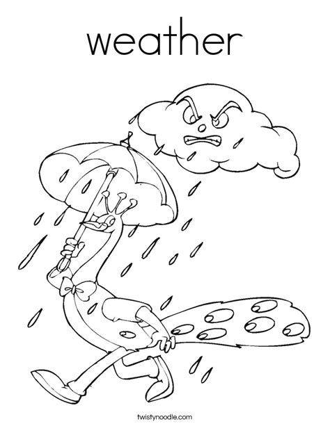 coloring pages weather weather coloring page twisty noodle