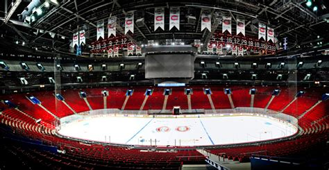 section rouge centre bell centre bell go montreal tourism guide