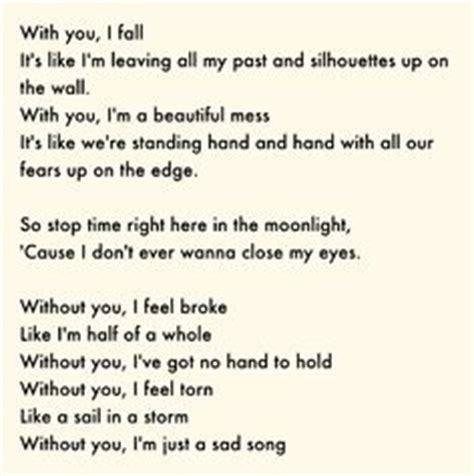 song sad sad songs and king on