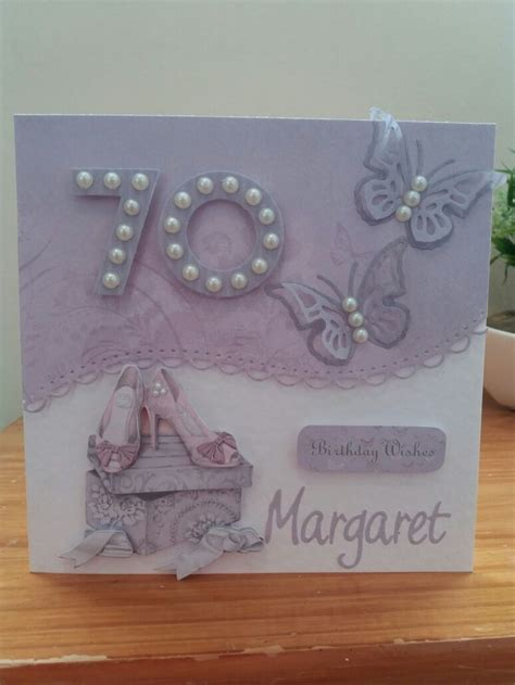 Handmade 70th Birthday Cards - best 25 70th birthday card ideas on diy 70th