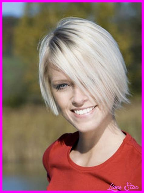 Short Back Long Frontvwith Bangs | short in the back long front haircut bob livesstar com