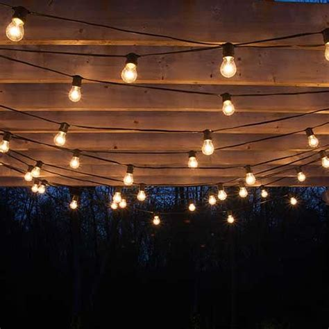 25 best ideas about backyard string lights on