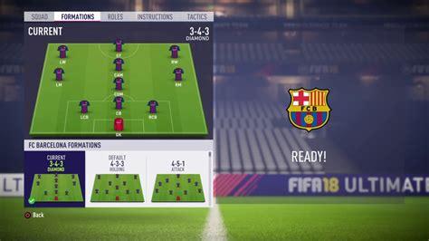 barcelona fifa 18 fifa 18 fc barcelona review best risky formation best