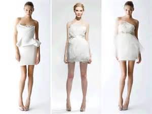 white wedding reception dresses mini white wedding reception dresses by marchesa onewed