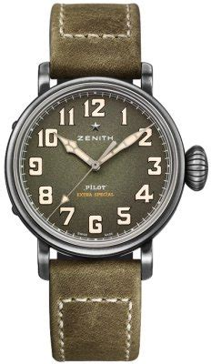 C753 Blackred zenith pilot montre d aeronef type 20 special discount prices page 1