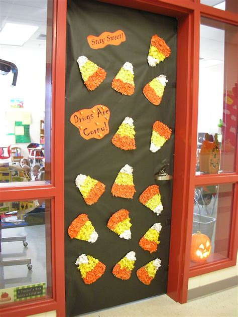 door decorations for ribbon week stay sweet drugs