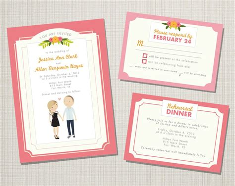 Wedding Invitation Craft Ideas