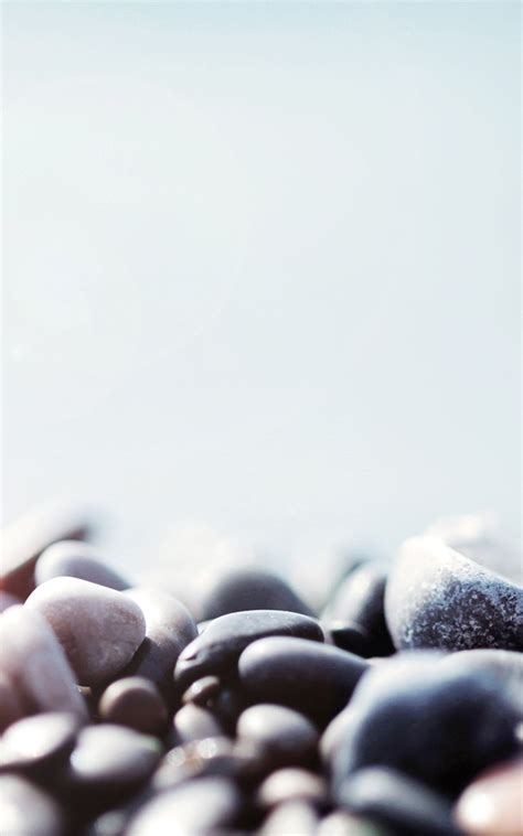 stone pebbles macro lockscreen android wallpaper