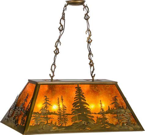 meyda 154998 pines rustic antique copper