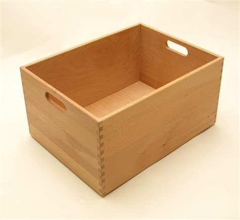 Schublade 30 X 30 by Holzkiste Holzbox Aus Buche Lackiert 40 X 30 X 21 Cm Wohn