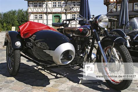 Motorräder Mit Beiwagen Oldtimer by Horex Motorrad Legende Der 50er Jahre Mit Beiwagen