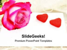 theme powerpoint rose fleur s blog style 2157 whimsical ivory tulle sweetheart