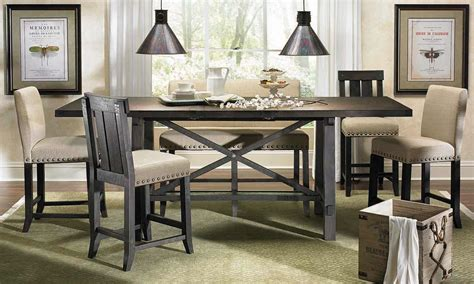 counter height dining table set haynes furniture yosemite counter height dining set