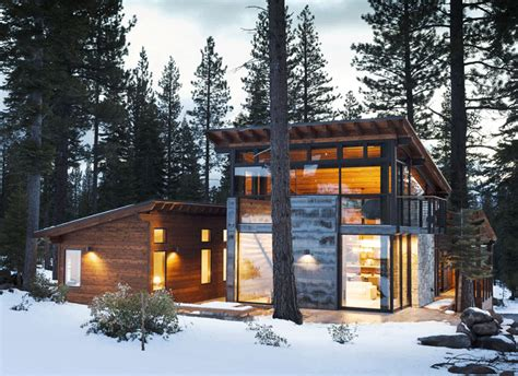 small mountain homes marvelous modern mountain home in truckee california is a