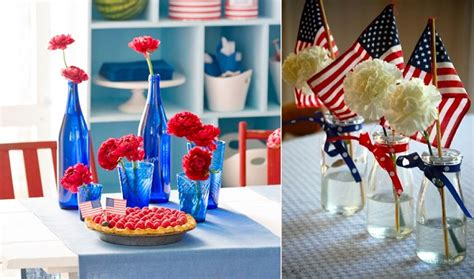 Fourth Of July Table Decoration Ideas by Cupcakelovers