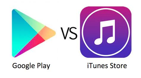 Play Store Vs Itunes Play Vs Itunes Store Which Store Is Better