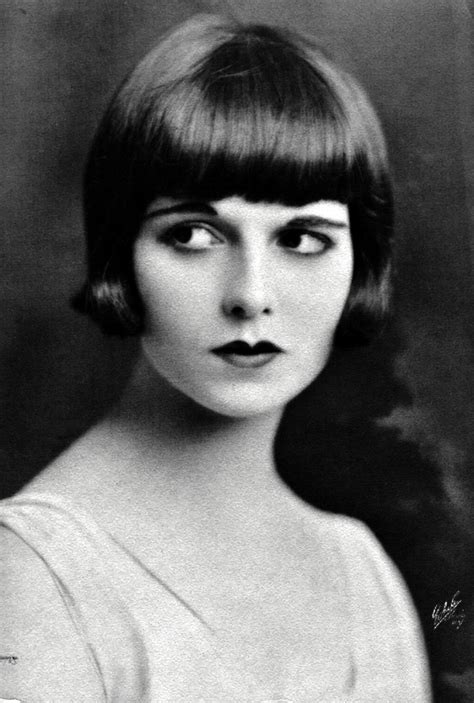 louise brooks haircut louise brooks photos louise brooks bob 1920 s style