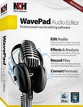 nch wavepad sound editor master edition