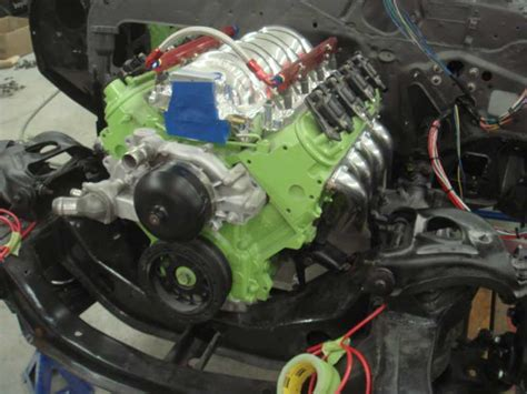 Paint Ls by Anyone Paint An Lsx Engine Third Generation F