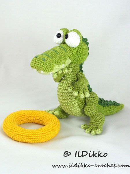 amigurumi alligator pattern conrad the crocodile amigurumi pattern by ildikko