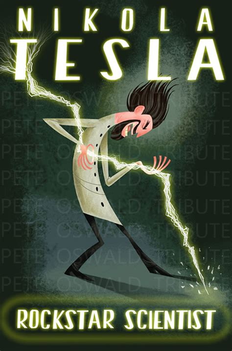 Nikola Tesla Poster The And Animation Of Dean Heezen Pete Oswald Nikola