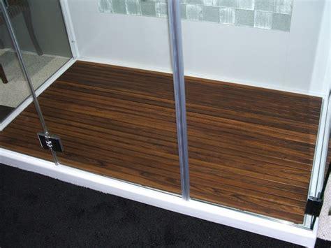 Teak Wood Shower Floor teak shower mat by teakworks4u