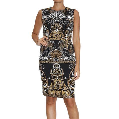 Cavali Dress lyst roberto cavalli dress in black