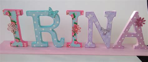 decorar letras decorar letras con decoupage