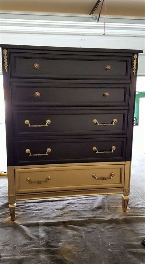 goodwill furniture makeovers dresser makeovers dressers and gold paint on pinterest