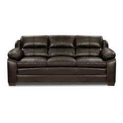 Sears Upholstery by Simmons Upholstery Espresso Pub Back Sofa Shop Living