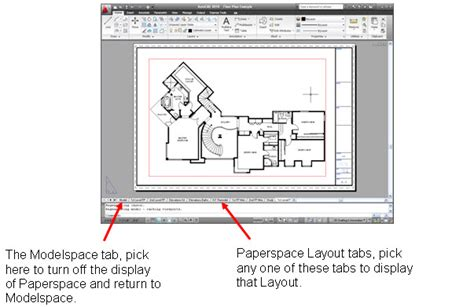 autocad layout use free autocad paperspace tutorial autocad paperspace