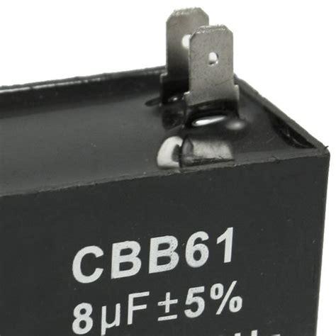 Capasitor 8 Uf 450v cbb61 8uf 450v ac 50 60hz air conditioner fan motor running capacitor ebay