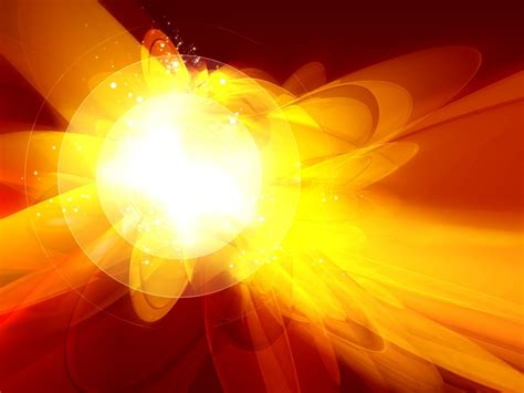 Amber Explosion Backgrounds For Powerpoint Abstract And Textures Ppt Templates Explosion Animation For Powerpoint