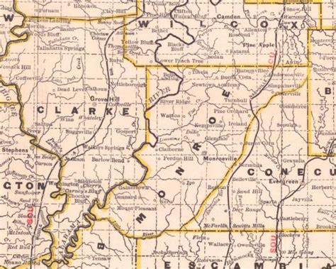 Clarke County Records Tracking Your Roots Clarke County Alabama