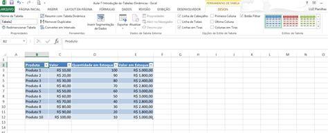 como criar layout no excel como fazer tabela no excel