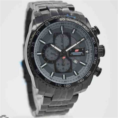 Chronoforce Black White Original jual jam tangan pria chronoforce 5230mb black grey baru