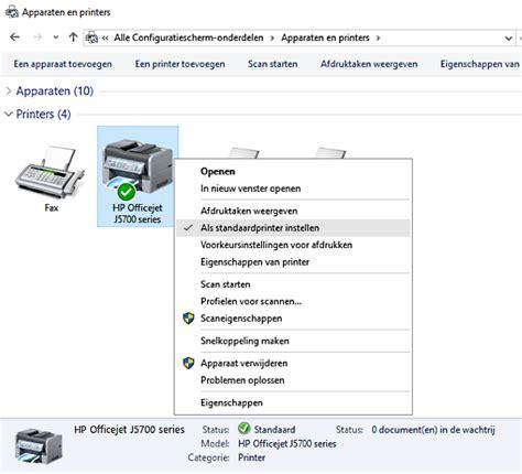 why is my printer offline problemen met de inkjet printer oplossen decomputer be