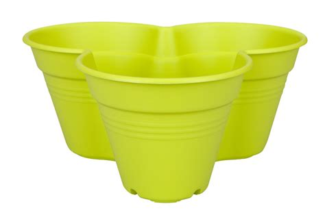 Stacking Pots Planters by Elho Growset Stacking Herb Strawberry Flower Planter Pots Green 163 7 1 Garden4less Uk Shop
