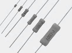 koa spr resistors resistors leaded