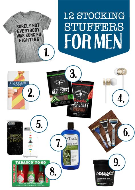 stocking stuffer ideas for him stocking stuffer ideas for him and her one lovely life