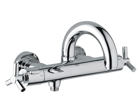 grohe bath shower mixer thermostatic grohe spa atrio ypsilon thermostatic bath shower mixer tap