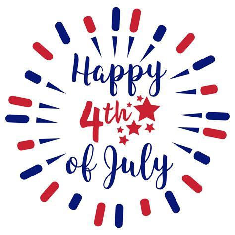 Happy 4th by Happy 4th Of July Svg Freebie Free Fourth Of July Svg