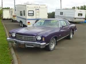 Chevrolet Monte Carlo For Sale Curbside Classic For Sale Purple 1975 Chevrolet Monte